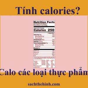 tính calories