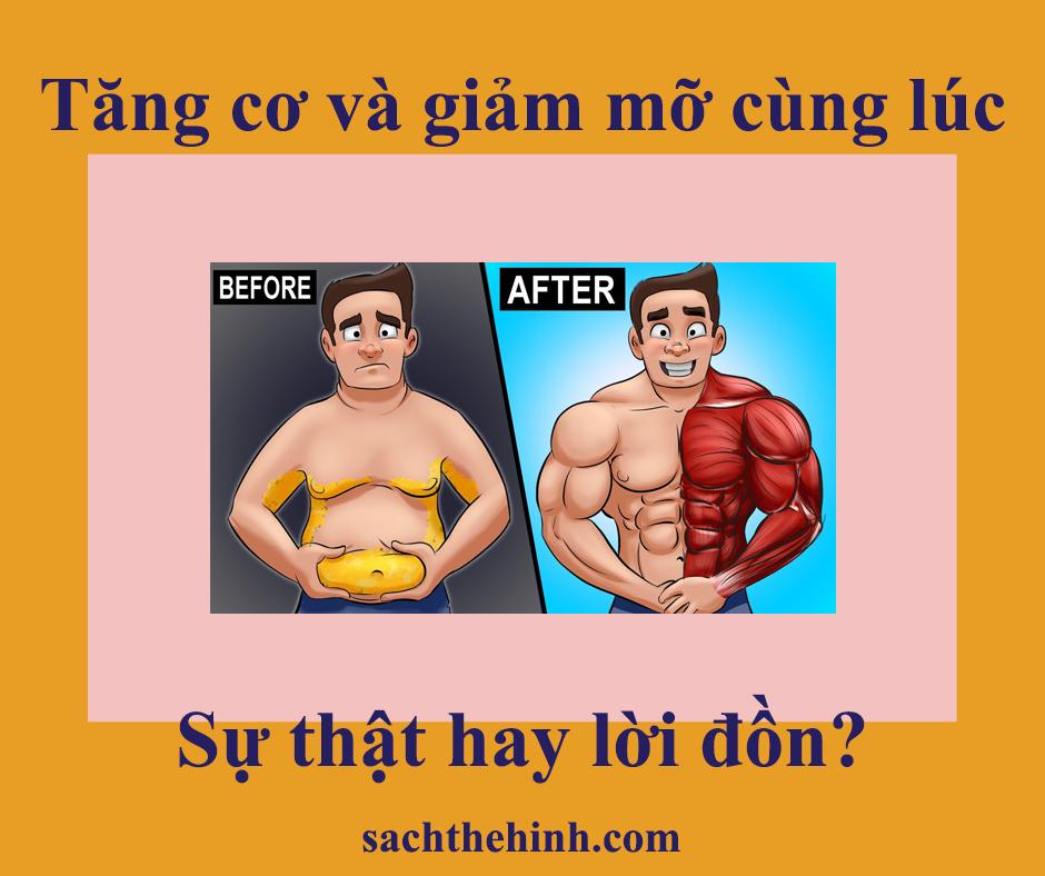 tăng cơ giảm mỡ cùng lúc